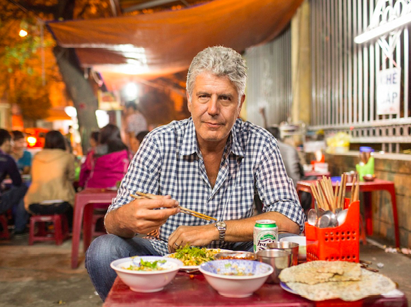Anthony Bourdain and the perfect meal